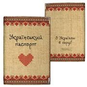 Обложка для паспорта Український паспорт Артикул: АН000316 фото