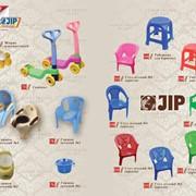 Пластмассовые стулья, горшки, самокаты для детей фото
