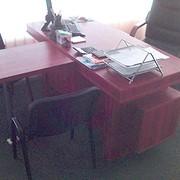 Стол директора Т-образный фото
