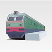 Реклама в поездах (Реклама на железной дороге) фото