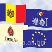 Фирменный флаг фото