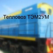 Тепловоз маневровый ТЭМ2УМ фото