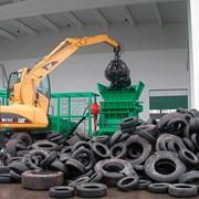 Утилизация старых шин (от грузовых авто) фото