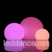 Светодиодный Беспроводной Влагозащищенный RGB Шар (Led Ball) 35 см фото
