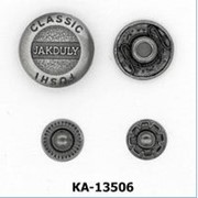 Кнопка Альфа 13,5мм, Код: КА-13506 фото