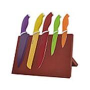 Ножи WR-7329 6пр нерж.цветн. фото
