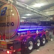 Полуприцеп-цистерна изотермический 28 000 литров фото
