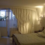 Пошив оригинальных штор, портьер фото