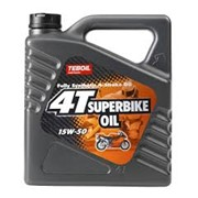 Полностью синтетическое масло Teboil 4-T SuperBike Oil 15W-50 фото