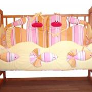 Бортик в кроватку фото