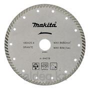 Рифлёный алмазный диск Makita TURBO 180 мм 18523934 фото