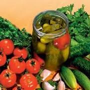 Консервы овощные натуральные фото