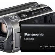 Видеокамера hdd Panasonic SDR-H100EE-K фото
