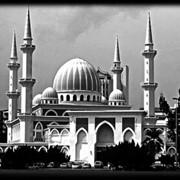 Гравировка на мраморе Мечеть фото