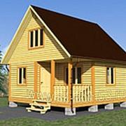 Проект Д-45 6х6 М Дом двухэтажный фото