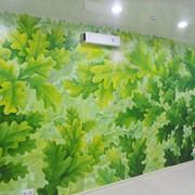 Художественная роспись стен. фото