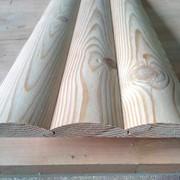 Дома деревянные из оцилиндрованного бревна фото