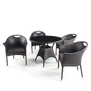 Комплект мебели 4+1 (Афина) T190B-1/Y-197B фото