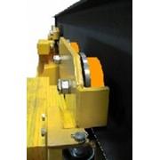 Конвейеры возможно заказать с полиуретановым покрытием колес. фото
