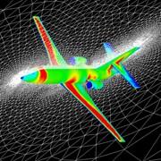Испытания техники в аэродинамической трубе фото