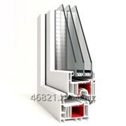 Профиль створки дверной Zб серии ULTRATEC 5-х камерный фото