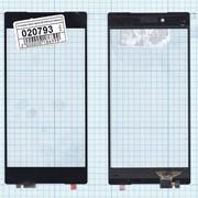 Сенсорное стекло (тачскрин) для Sony Xperia Z5 Premium черное, Диагональ 5.5 фото