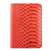 Barkli Обложка д/паспорта и авто 00019-A309 red Br фото