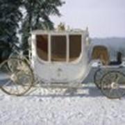 Свадебная карета Элегия, кареты свадебные посадочных мест 4+2 фото
