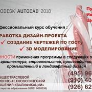 Курсы изучения AutoCAD 2018 Пушкино-Ивантеевка фото