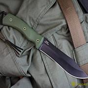 Нож Safari (G-10) AUS8 черный фото