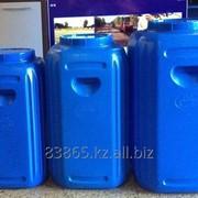 Емкость бесшовная пластиковая для воды 80 литров фото