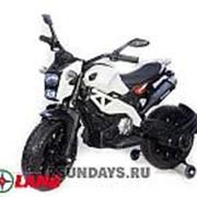 Детский электромотоцикл Moto Cross DLS01 YEG2763 белый фото
