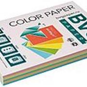 BVG Paper Бумага цветная BVG, А4, 80г, 250л/уп, радуга 5 цветов, пастель фото