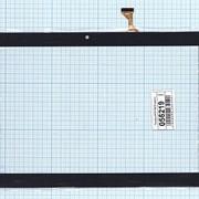 Сенсорное стекло (тачскрин) DP101166-F4 черное, Диагональ 10.1 фото