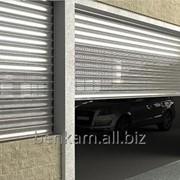 Алюминиевые ставни для гаража фото