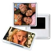Изготовление магнитов на холодильник с Вашей фотографией фото
