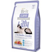Сухой корм для кошек Brit Care Cat Lilly I have Sensitive Digestion 2 кг фото