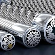 Канат стальной ф4,0мм ГОСТ 3067-80 (оцинкованный) фото