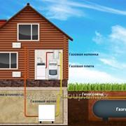 Автономная газификация частного дома фото