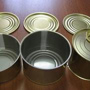 Цельнотянутые металлические банки фото