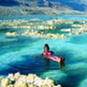Мертвое море с полезной водой фото