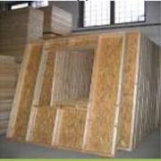 Панельный базовый с монтажом (изготовленные в заводских условиях панели из каркаса древесины, обшиты снаружи плитой OSB 10-12 мм) фото