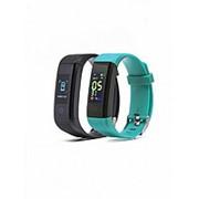 Фитнес браслет Smarterra Fitmaster 4 (черный+зеленый) фото