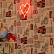 СТАРТ LED neon ночник сердце (3xR6 не в компл.) 375x290x22 фото