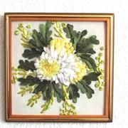 Белые хризантемы. фото