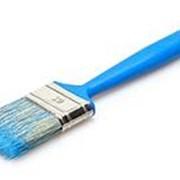 Кисть флейц.МЦ КФ-25*12-В1 синяя 77025 /115/ фото