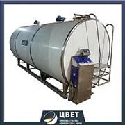 Танк охладитель молока МОУ-8000 8 м3 фото