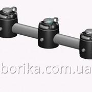 Тарга 610 мм с тремя замками и монтажными площадками без поворотного механизма фото