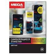 Этикетки самоклеящиеся ProMEGA Label 210х297мм, 80г голубая (100лист/уп) фото