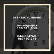 Ликвидация фирмы за 1 день в Харькове фото